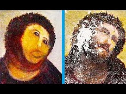 worst art restoration fails youtube