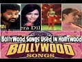 Hollywood Copied From Bollywood Songs