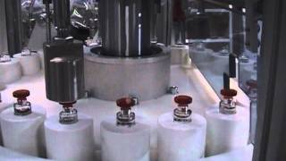 LA2 - AUTOMATIC - FILLING CAPPING MACHINE for mini bottles - auto filler