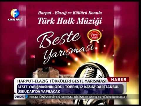 Kanal Fırat Haber - Harput Elazığ Türküleri Beste Yarışması