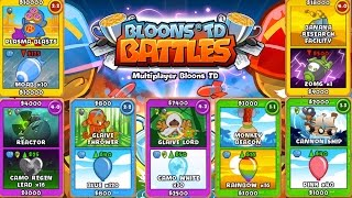 BRAND NEW BLOONS TD CARD BATTLES UPDATE - Bloons TD Battles - Bloons Tower Defence Battles Update!!!
