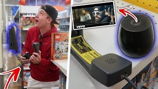 "PLAYING ""KEEMSTAR - Dollar In The Woods!"" ON THE Toys""R""Us INTERCOM (PRANK) @KEEMSTAR"