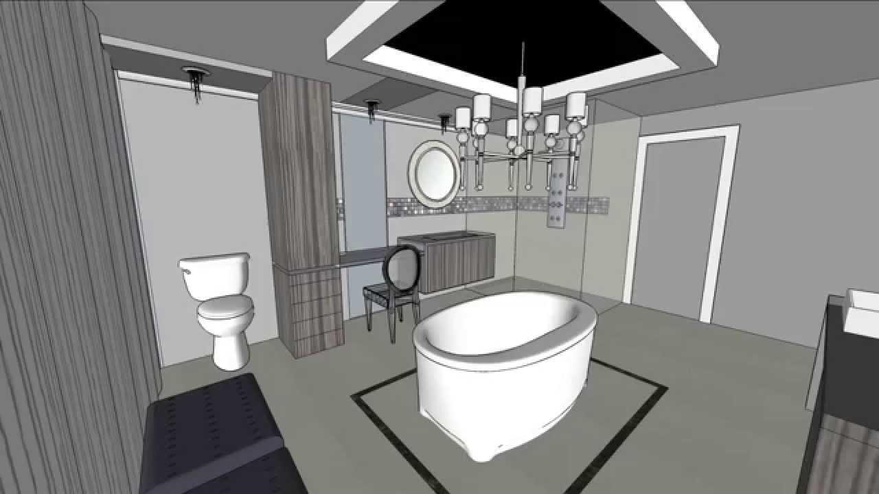 salle de bain classique/chic