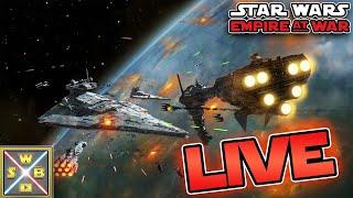 Star Wars Empire at War! - Star Wars Basis Livestream