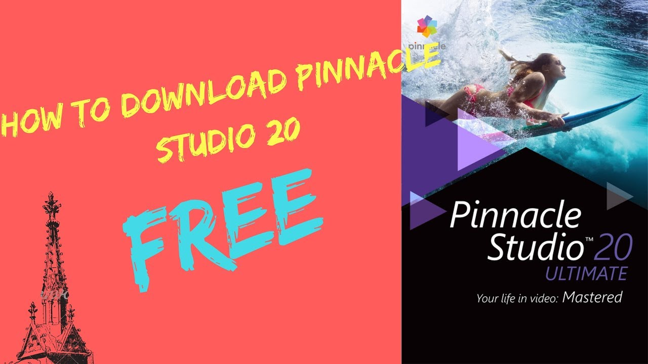 free pinnacle studio 20 download