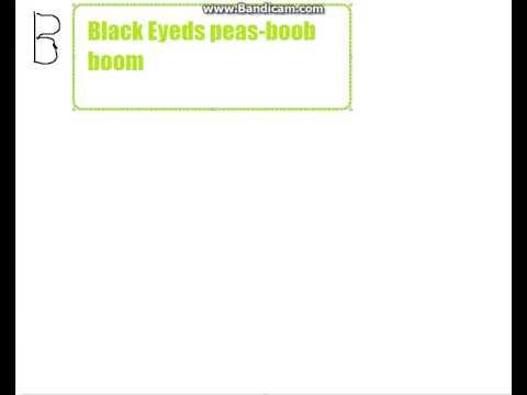 Black eyed peas   boom boom pow mp3