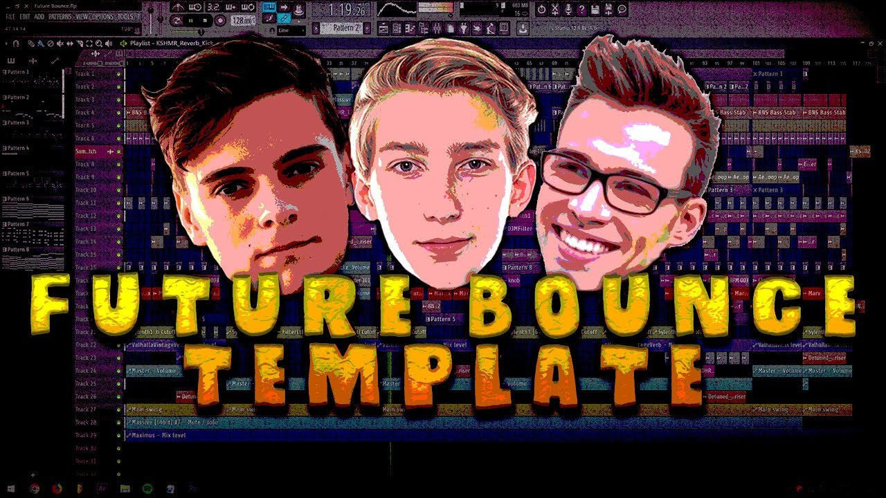 Future Bounce Template (Martin Garrix, MESTO, Curbi Style) [FREE FLP]
