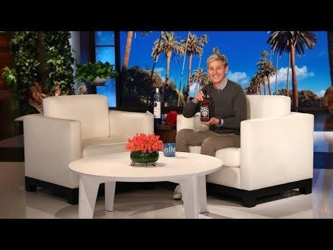 Ellen Reveals New Celebrity Liquors