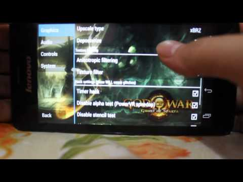 PPSSPP [PSP FOR ANDROID] – FIX Setting God Of War – Ghost Of Sparta