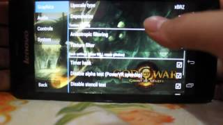 PPSSPP [PSP FOR ANDROID] - FIX Setting God Of War - Ghost Of Sparta
