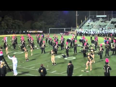 2012 TJHS Marching Band - Batman