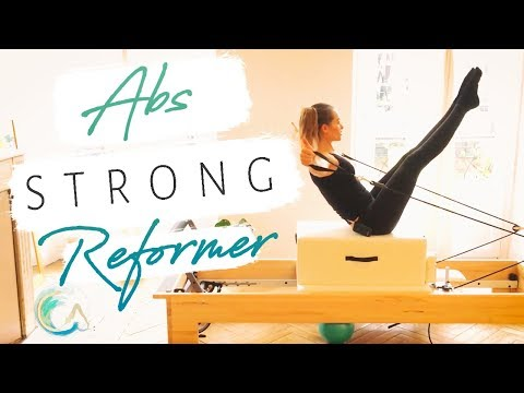 ABS STRONG Athletic Pilates REFORMER Workout Preview -