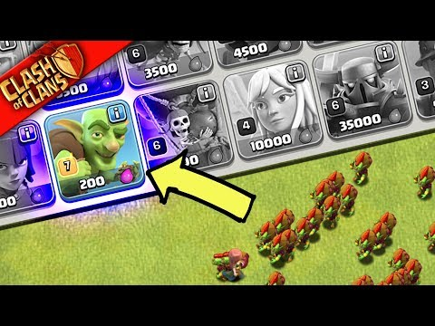 SO, WHY DID I ONLY MAX GOBLINS in Clash of Clans?