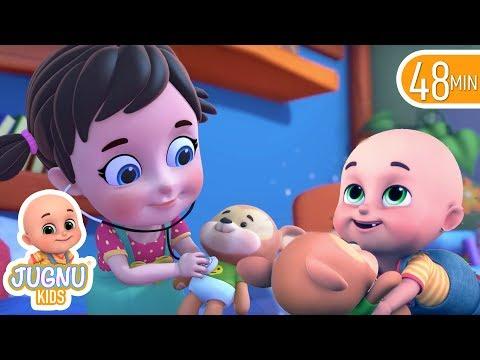 Teddy Bear Teddy Bear Turn Around | Nursery Rhymes and Baby songs for kids from jugnu Kids