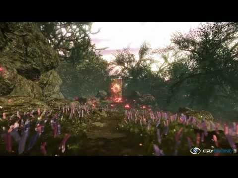 Fairy Forest Game Environment in Cryengine