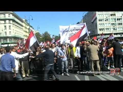 Demonstration against the Egyptian President Mohammed Morsi 30/06/2013 - Vienna