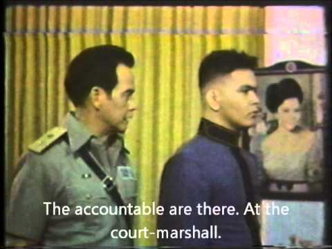Epic scene from Kadete (1979): my first attempt at hard-subbing an old Tagalog movie scene.  Ronald Corveau, playing an idealist PMA plebe confronts his father, played by the late Fred Montilla, who's also the PMA's superintendent in this movie.  in this scene are reasons why you either love or hate Tagalog movies.