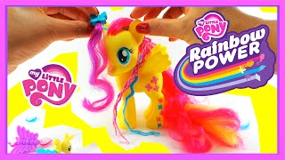 My Little Pony Fluttershy Deluxe Fashion Pony - DIY Hair Styling for MLP Rainbow Power