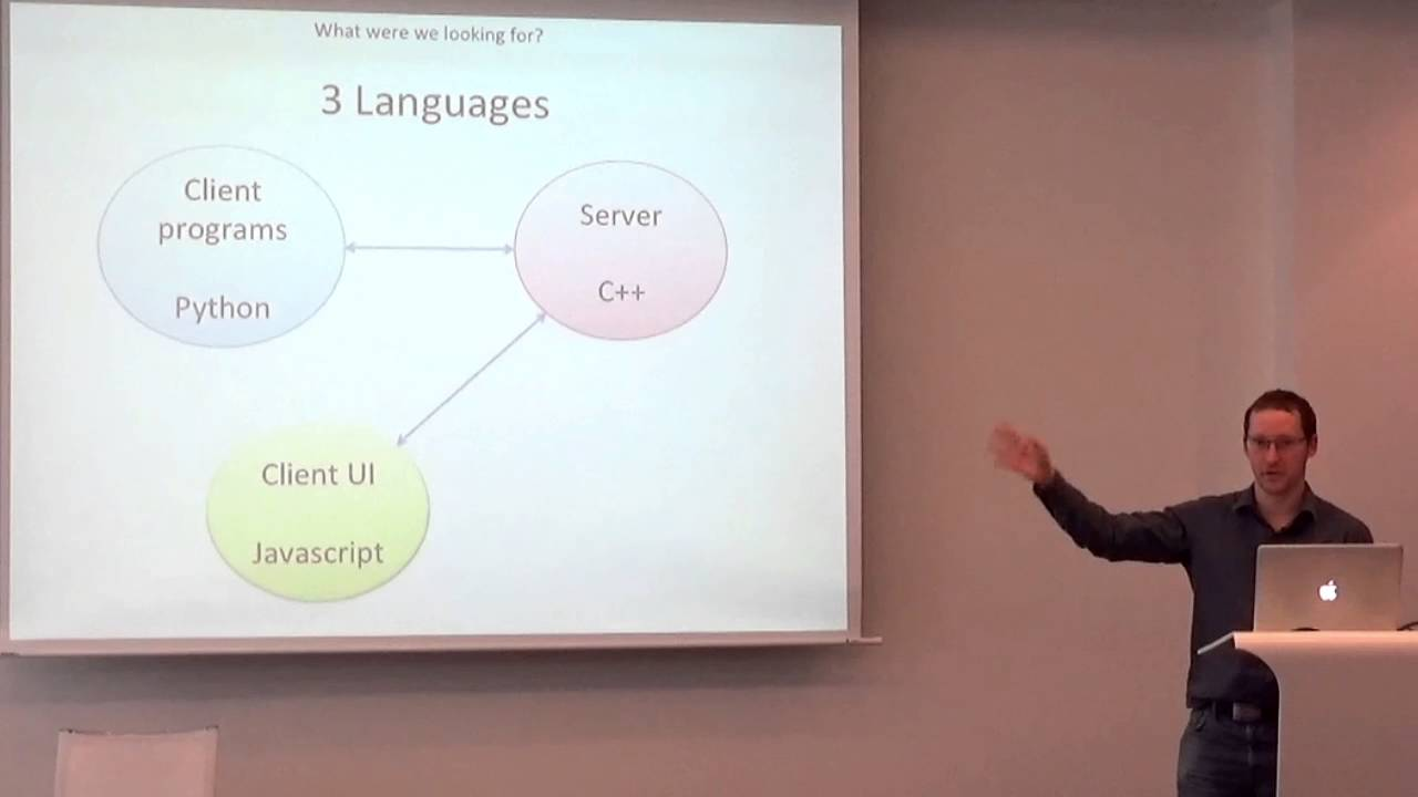 Ben Huckvale - A perfect async RPC Framework? - Lightning Talks - Meeting  C++ 2015