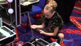Dance Moms - Maddie Ziegler is upset before the Dance