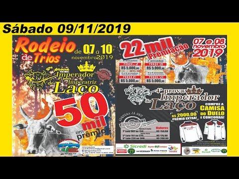 Rodeio de Trios 4º Prova do Imperador e 2ª Imperatriz domingo/10/2019  – Unistalda-RS