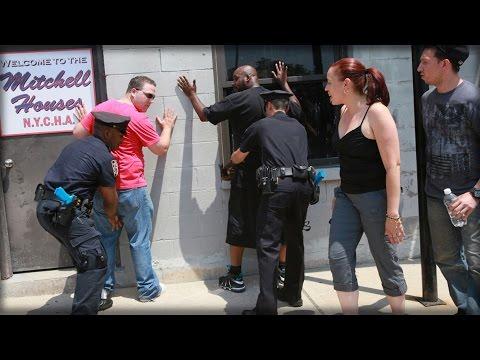 TRUMP PRAISES POLICE STATE TACTICS
