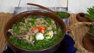 Bếp Cô Minh | Tập 107 - Hướng dẫn cách làm bánh canh hẹ Phú Yên - Phu Yen Cake Soup