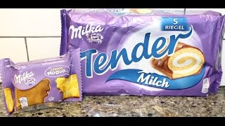 From Germany! Milka Choco Moooo & Milka Tender Review