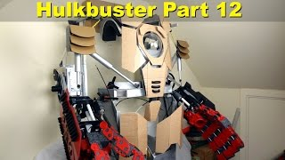 XRobots - Iron Man HULKBUSTER Cosplay Part 12, bicep details, shoulder bells