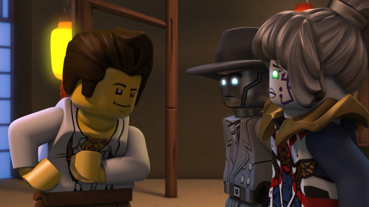レゴ ニンジャゴー シーズン12 侵略のAI編 第13話 「ミルトンの影を追え、探偵ゼンの事件簿」