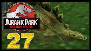 Jurassic Park: Operation Genesis - Episode 27 - Stegosaurus!