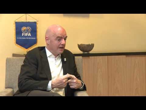 INTERVIEW EXCLUSSIVE AVEC GIANNI INFANTINO