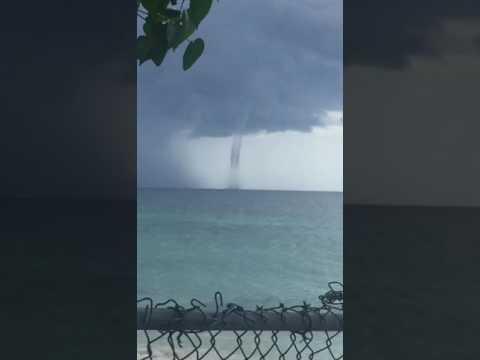 Hurricane Matthew touch down in Negril