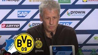 """""""Wir sind zurückgekommen!""""   PK mit Lucien Favre   TSG Hoffenheim - BVB 1:1"""
