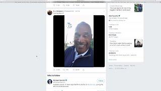 OJ on Twitter: 'I got a little gettin' even to do'