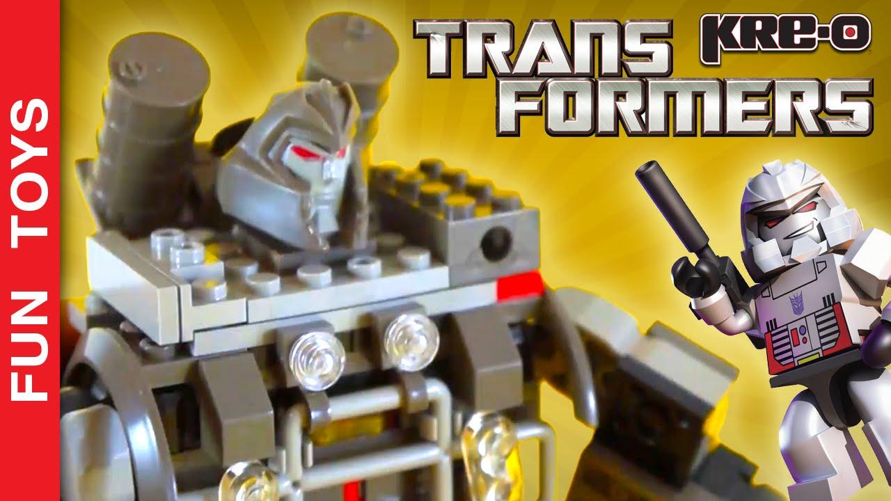 Megatron Transformers Kre O Set 30688 The Attack On Brick Ville