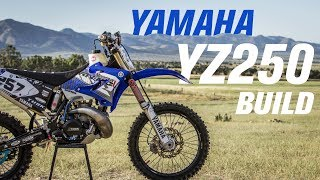 2004 Yamaha YZ250 Bike Build
