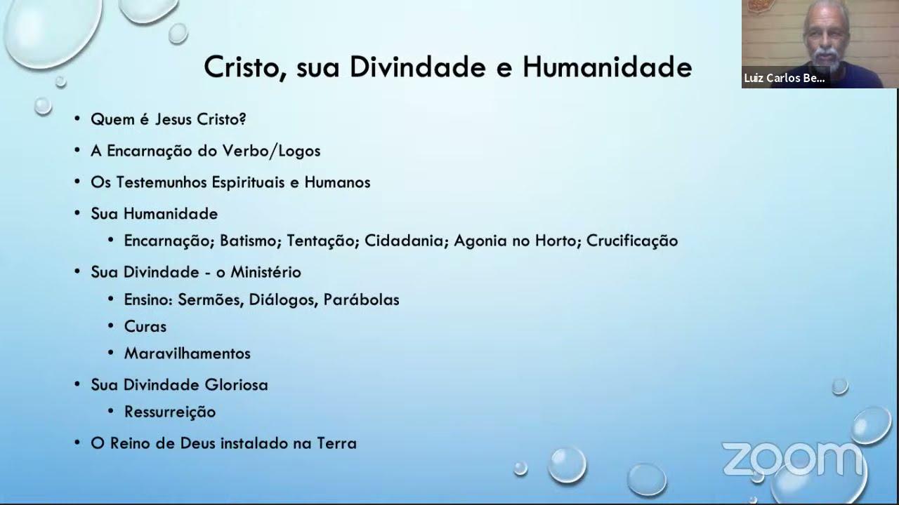 A HUMANIDADE E A DIVINDADE DE JESUS CRISTO