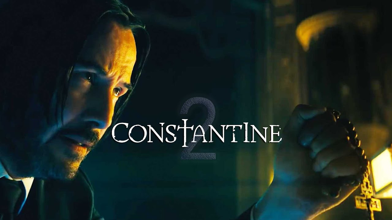 Constantine 20 New Movie Announcement   Keanu Reeves