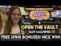 BONUS! Wheel of Fortune Triple Extreme Spin! Open the Vault! Nice WIN!!