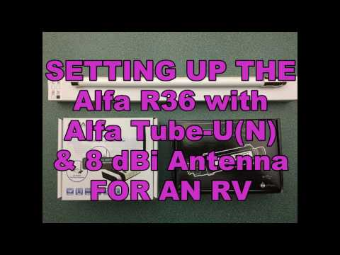 Alfa Wifi Booster System for RVing - System Setup