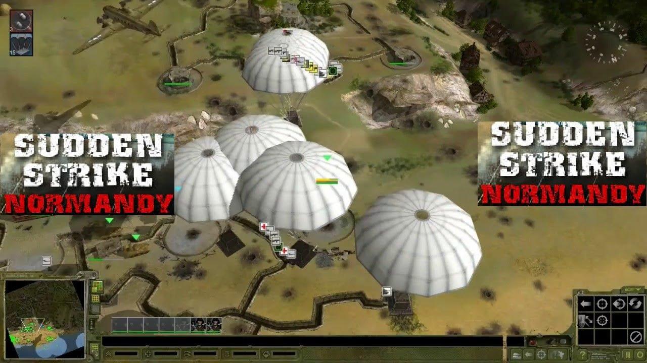 شرح طريقة تحميل وتثبيت لعبة Sudden Strike Normandy سودن سترايك كاملة و مضغوطة بحجم صغير برابط مباشر