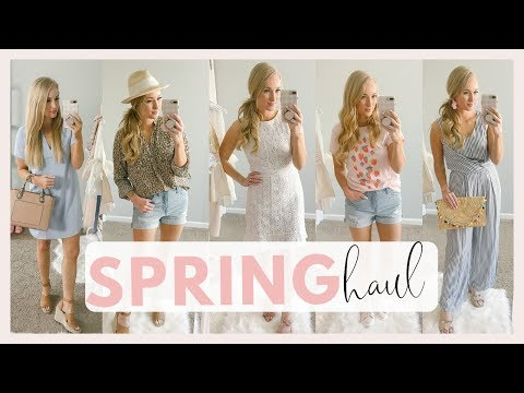 SPRING CLOTHING HAUL 2019 | WHATS NEW TO MY WARDROBE |  Amanda John