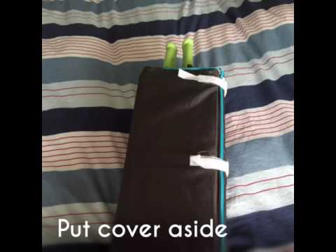 How To Build Hauck Dream N Play Travel Cot Instructions Youtube