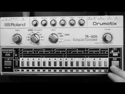 TR-606 + SH1