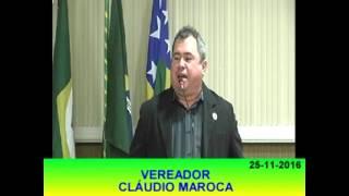 Claudio Maroca Pronunciamento 25 11 16
