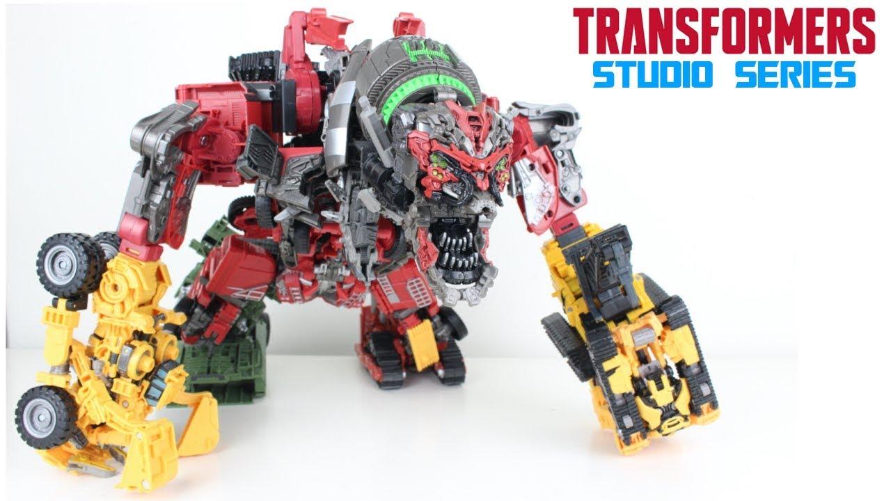 Studio Series Devastator Transformation Configuration Tutorial Video