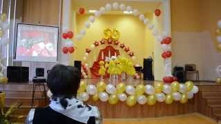 Оранжевый кот. Иркутск 2014. Выступление маленьких цыплят на 50 летие ИТТриС