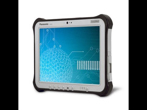 CES 2013: Panasonic launches FZ-G1 Windows 8 Pro Tablet