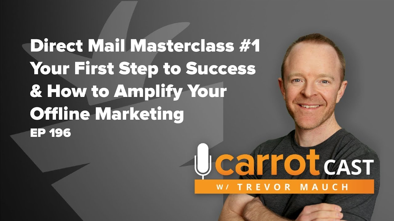 Direct Mail Masterclass #1: First Step to Successful Direct Mail | Amplify Your Offline Marketing